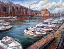 140808-oude haven in honfleur